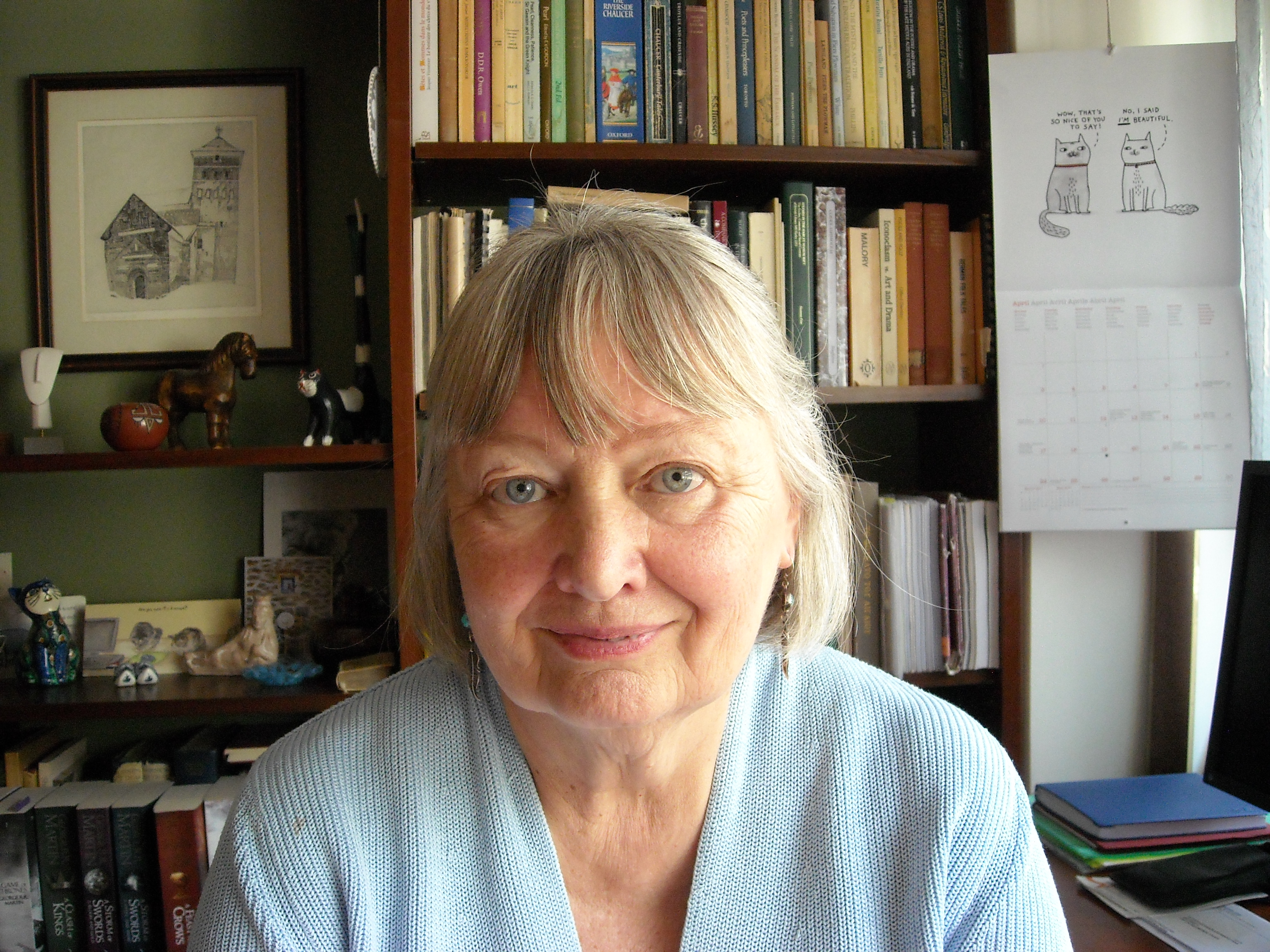 Karin Boklund-Lagopoulou, Professor Emeritus of English and Comparative Literature, Theory of Literature and Methodology of Text Analysis, School of English Language and Literature